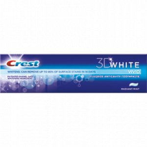 Crest 3D White Vivid Toothpaste reviews, opinions and consumer feedback