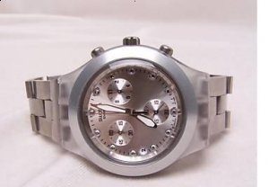 Swatch Full Blooded Silver Mens Watch  reviews, opinions and consumer feedback