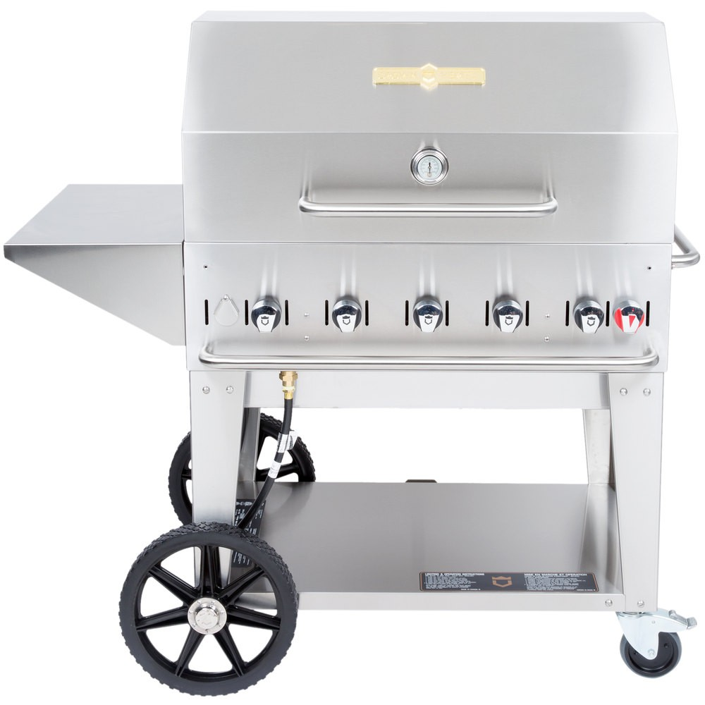 "BBQ 36"" Crown Verity - gaz propane avis, opinions et commentaires"