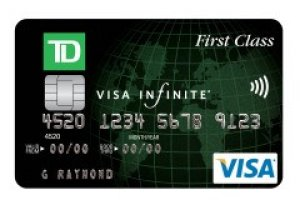 TD First Class Travel Visa Infinite Card avis, opinions et commentaires