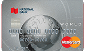 National Bank World Mastercard reviews, opinions and consumer feedback