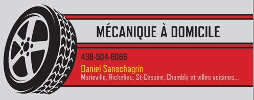 Mécanique à domicile Daniel Sanschagrin reviews, opinions and consumer feedback
