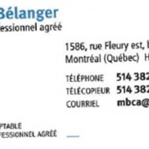 Bélanger Maurice CPA Auditeur CA reviews, opinions and consumer feedback
