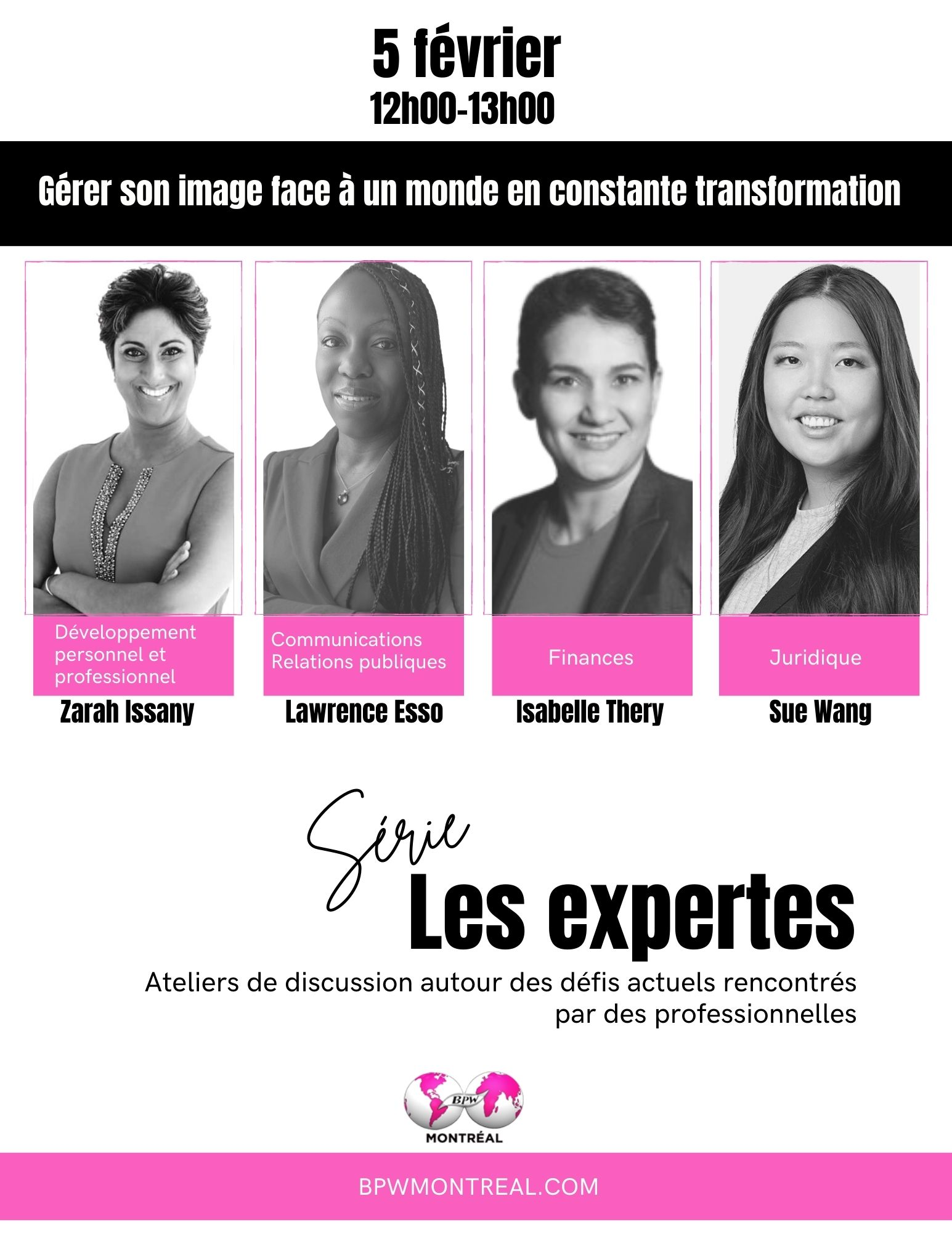 LES EXPERTES | Atelier #1: Gérer son image face à un monde en constante évolution reviews, opinions and consumer feedback