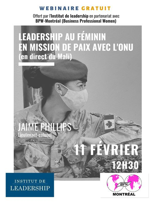 Ledership au féminin en mission de paix avec l'ONU reviews, opinions and consumer feedback