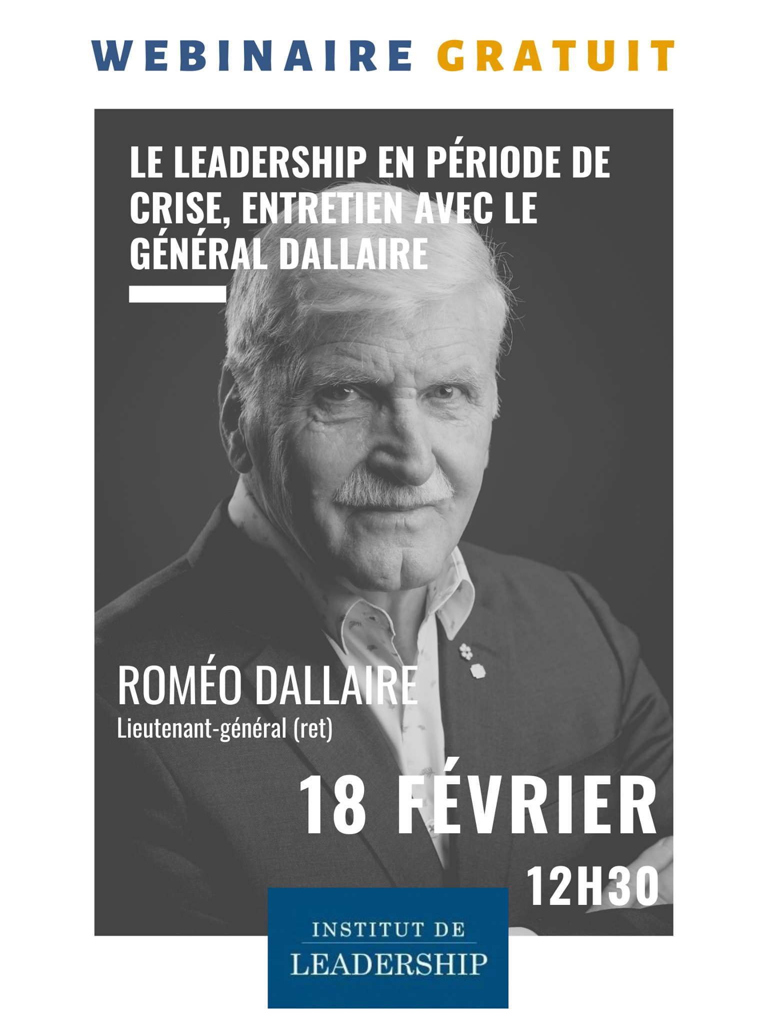 Leadership en période de crise, entretien avec le général Dallaire reviews, opinions and consumer feedback