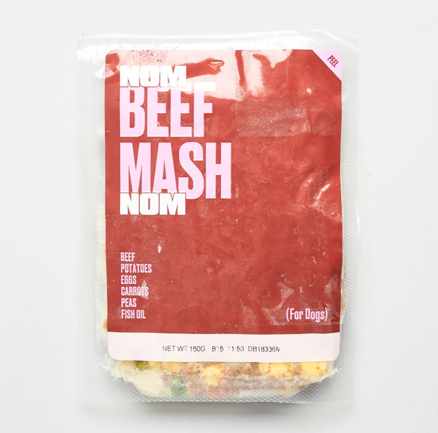 NOM NOM - BEEF MASH reviews, opinions and consumer feedback