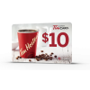 Tim Hortons $10 Gift Card